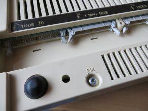 BBC Master 128 - Anschlüsse Tube und 1 MHz Bus