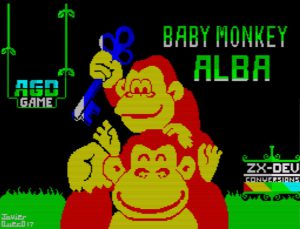 Baby Monkey Alba - Ladescreen