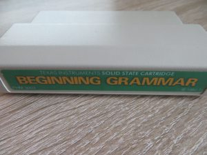Beginning Grammar