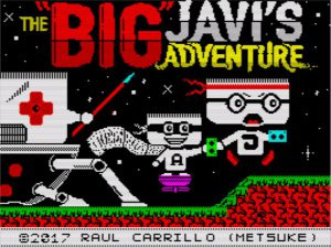 Big Javi's Adventure - Ladescreen