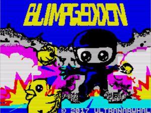 Blimpgeddon - Ladescreen