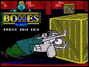Boxes - Ladescreen