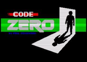 Code Zero - Ladebildschirm