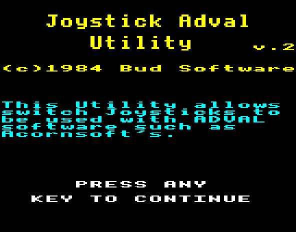 Commander 3 - Joystick Adval Utility