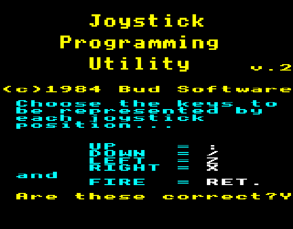 Commander 3 - Joystick Programming Utility