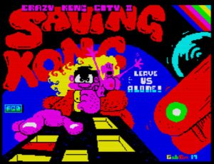 Crazy Kong City II - Saving Kong - Ladescreen