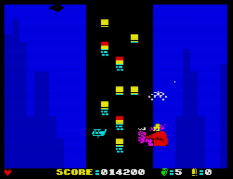 Crazy Kong City II - Saving Kong - Screen