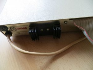 Cumana Diskettenlaufwerk - Rückseite