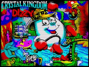 izzy VII - Crystal Kindom Dizzy (2017) - Ladescreen