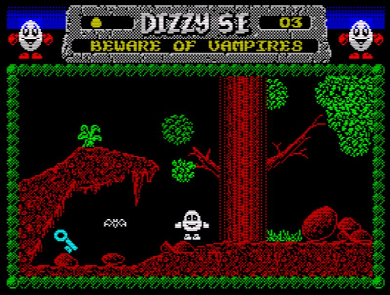 Dizzy and the mystical Letter - Screen