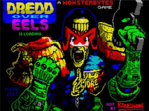 Dredd Over Eels - Ladescreen