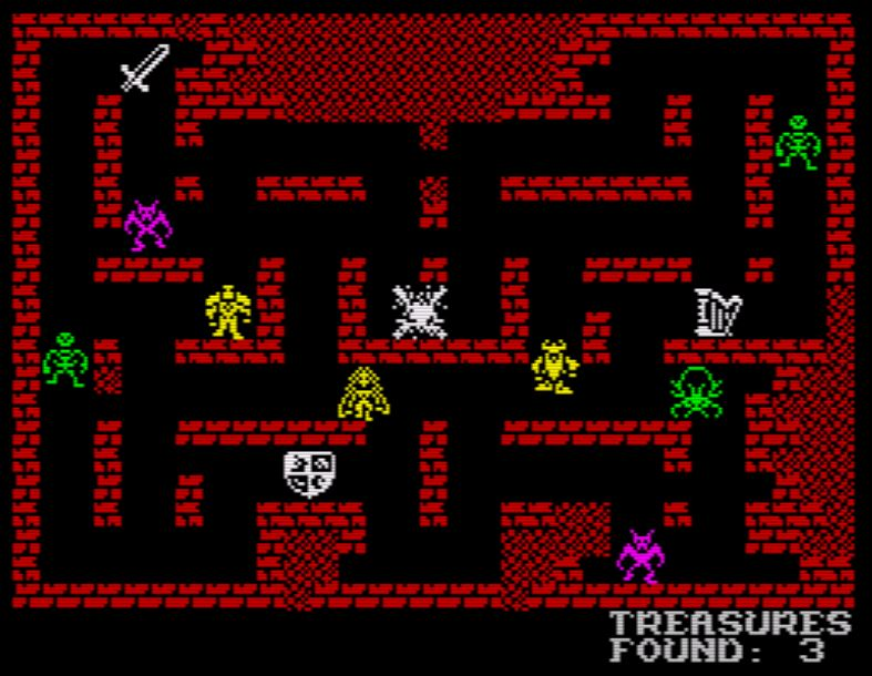 Dungeon Raiders - Spielbildschirm