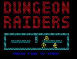 Dungeon Raiders - Startbildschirm