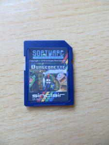 Dungeonette - SD-Karte