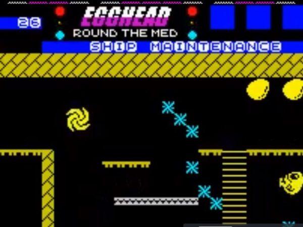 Egghead 5 - Screen