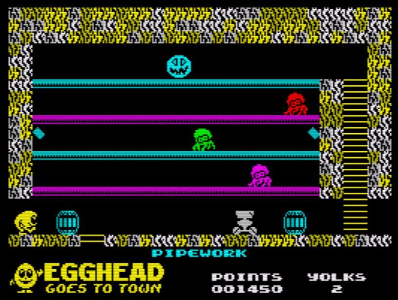 Egghead 6 - Screen