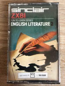 English Literature 2