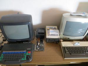 Enterprise 128 und Atari 800 XL