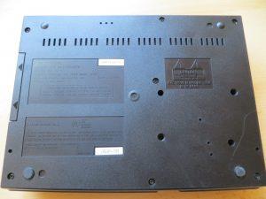 FZ-10 - Unterseite