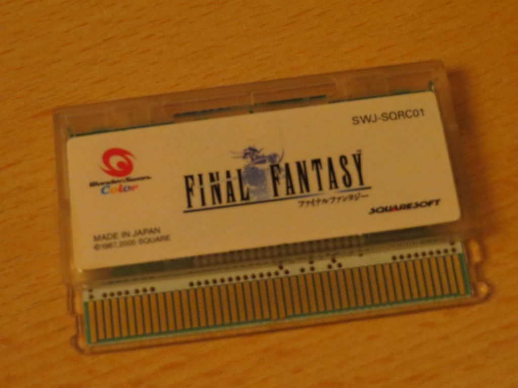 Final Fantasy I - Cartridge