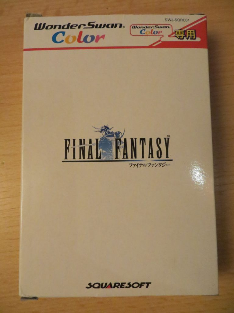 Final Fantasy I - Schachtel Vorderseite