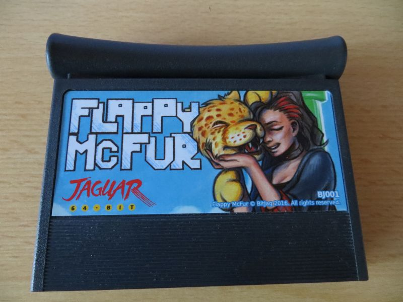 Flappy McFur - Cartridge