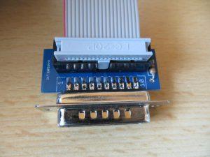 Floppy Emulator - Stecker Macintosh Adapterplatine 2