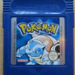 Pokemon blau