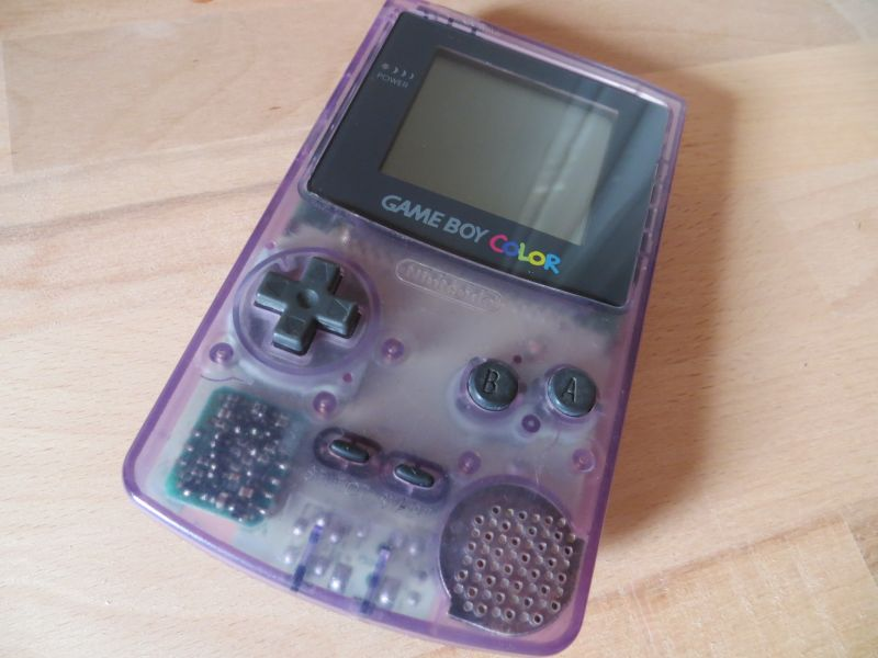 Game Boy Color - puple clear