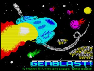 GenBlast - Ladescreen