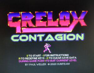 Grelox Contagion - Startscreen