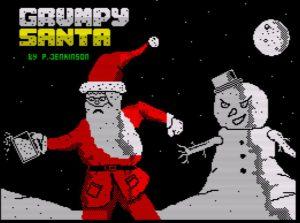 Grumpy Santa - Ladescreen