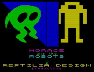 Horace and the Robots - Ladescreen