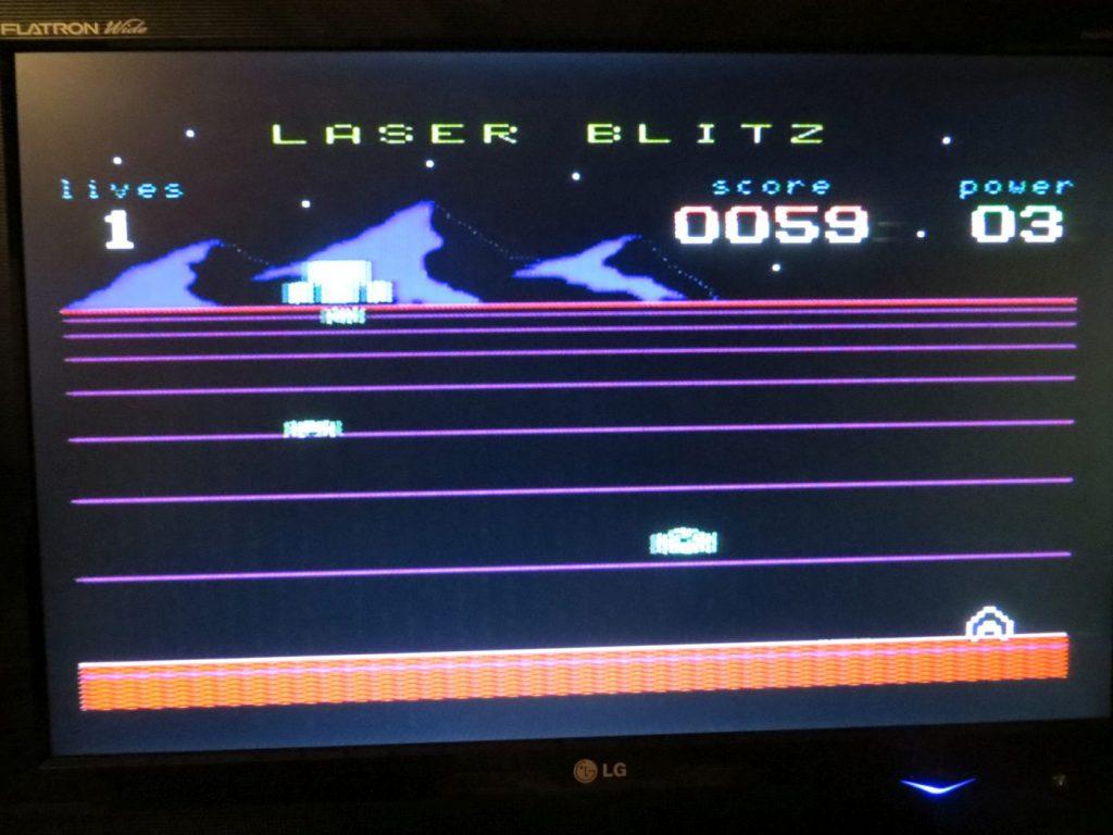 Laser Blitz - Screen