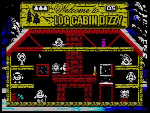 Log Cabin Dizzy - Screen