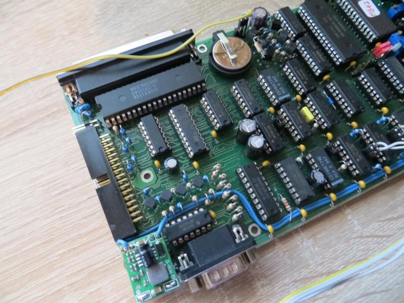 MB02+ Floppy und Kemspston Anschluss