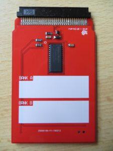 Memory Card - Unterseite