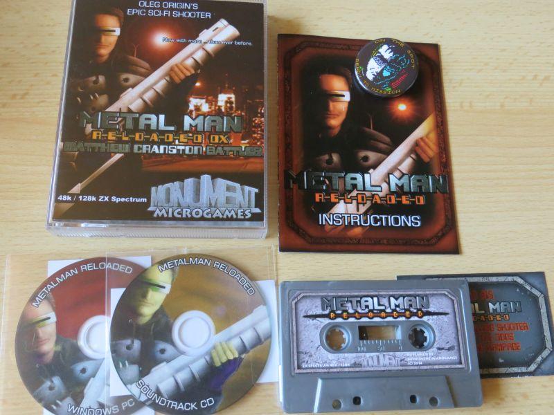 Metal Man Reloaded - Monument Microgames