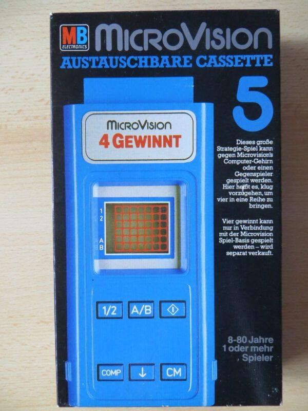 Microvision - 4 Gewinnt Box Vorderseite