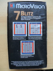 Blitz - Box-Rückseite