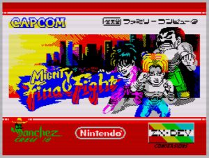 Mighty Final Fight - Ladescreen