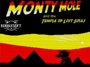 Monty and the Temple of Lost Souls - Ladescreen