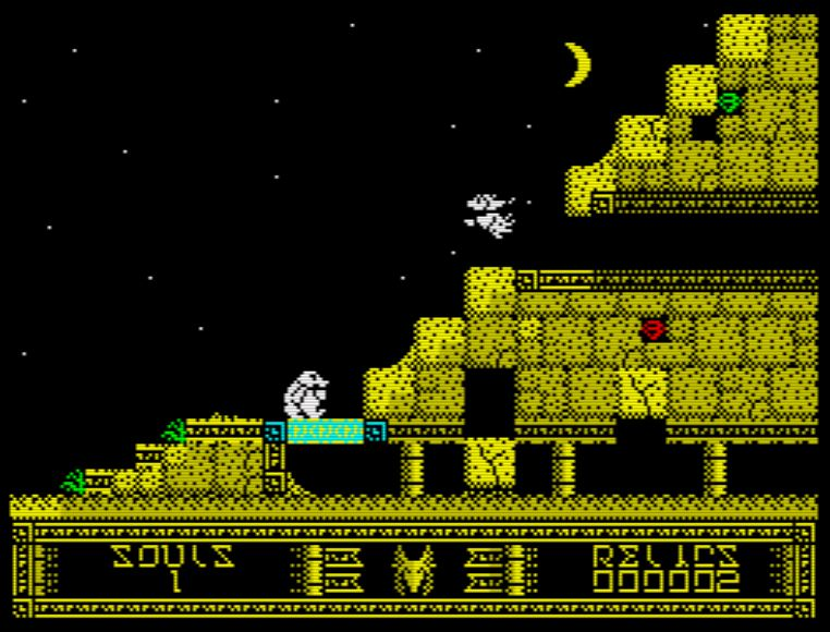 Monty and the Temple of Lost Souls - Screen