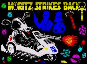 Moritz Strikes Back - Ladebildschirm