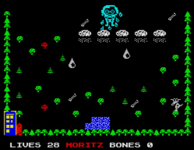 Moritz48k - Screen