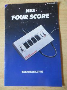 NES Four Score - Manual