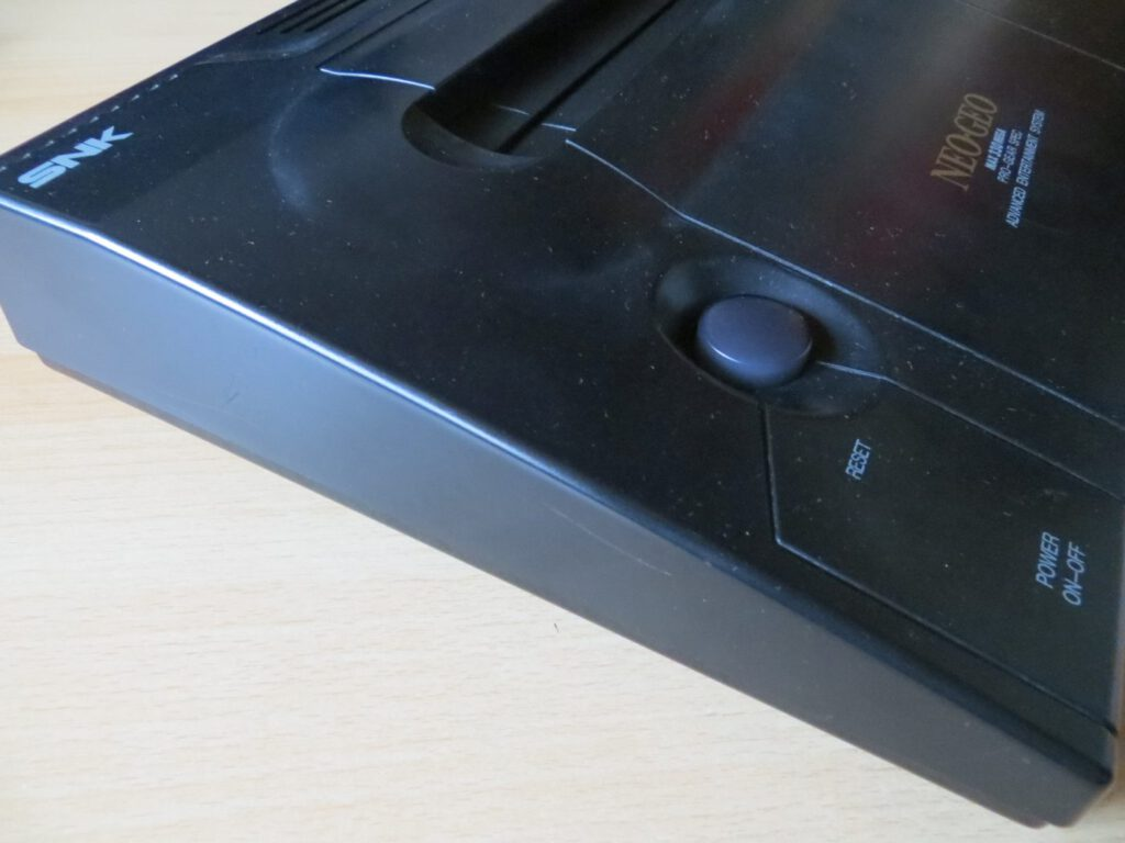 Neo Geo AES - seitlich