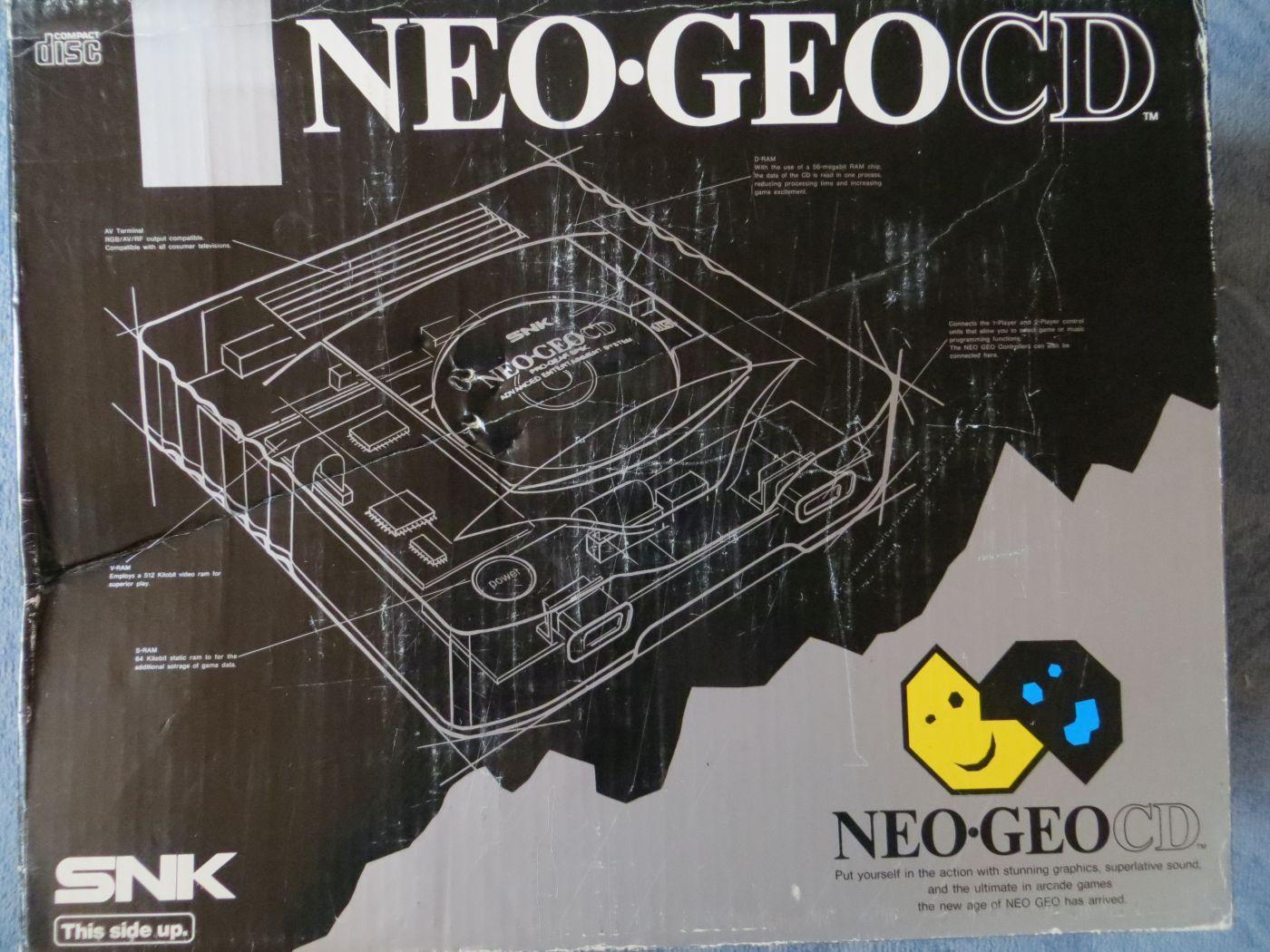 Neo Geo CD - Verpackung Vorderseite