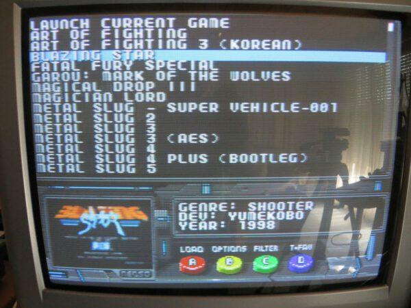 NeoSD - Bildschirm