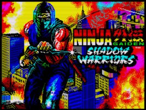 Ninja Gaiden Shadow Warriors - Ladescreen